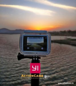 Photography with action camera